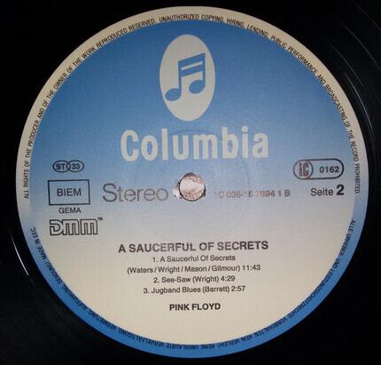 #<Artist:0x00007fcee1d3ec28> - A Saucerful of Secrets