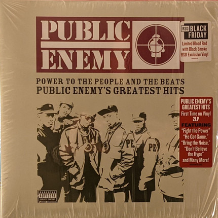 #<Artist:0x00007fe42c77e698> - Power To The People And The Beats (Public Enemy's Greatest Hits)