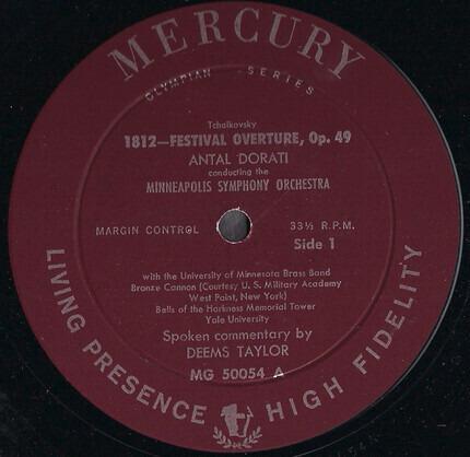 #<Artist:0x00007fcee277a430> - 1812 Festival Orchestra, Op. 49 (Original Scoring) / Capriccio Italien