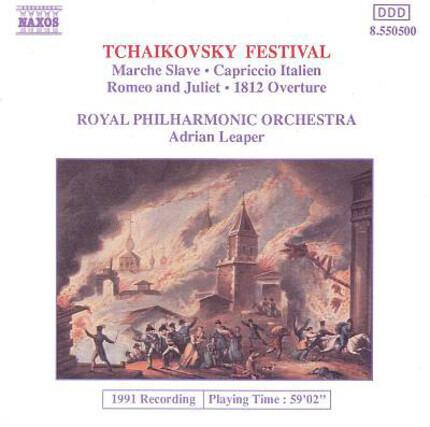 #<Artist:0x00007f60e1f7cd28> - Marche Slave / Cappriccio Italien / Romeo & Juliet / 1812 Overture