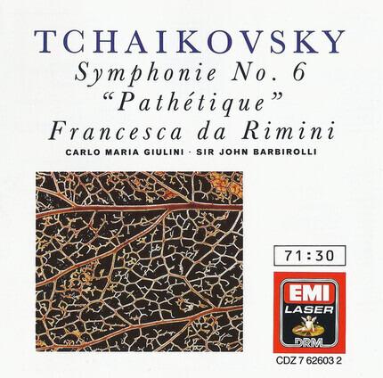 #<Artist:0x00007f70ddd48f78> - Symphonie No. 6 'Pathétique' • Francesca da Rimini