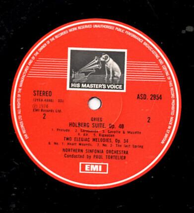#<Artist:0x00007fcec167dc38> - Rococo Variations / Holberg Suite, Two Elegiac Melodies