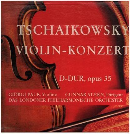 #<Artist:0x00007fcee1721598> - Violin Konzert D- Dur, Opus 35