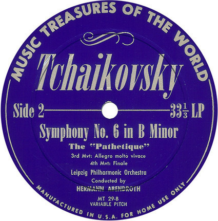 #<Artist:0x00007f475fc8ed00> - Symphony No. 6 In B Minor: The 'Pathetique'