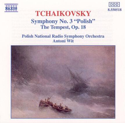 "#<Artist:0x00007fce28cf09d8> - Symphony No. 3 ""Polish"" / The Tempest Op. 18"