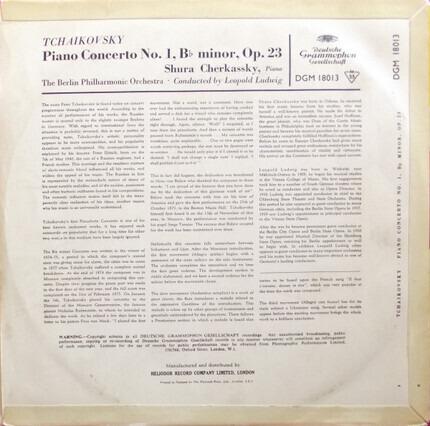 #<Artist:0x00007fcec2dd9008> - Piano Concerto No. 1. B-Flat Minor, Op. 23
