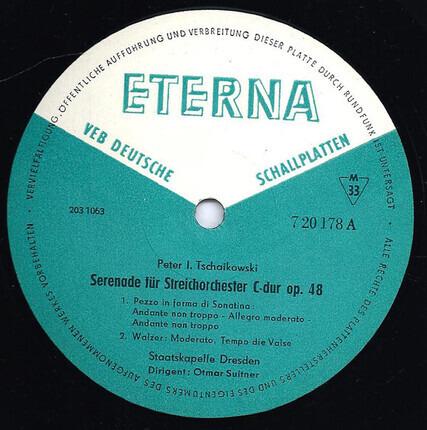 #<Artist:0x00000000089de420> - Serenade Für Streichorchester C-dur Op. 48