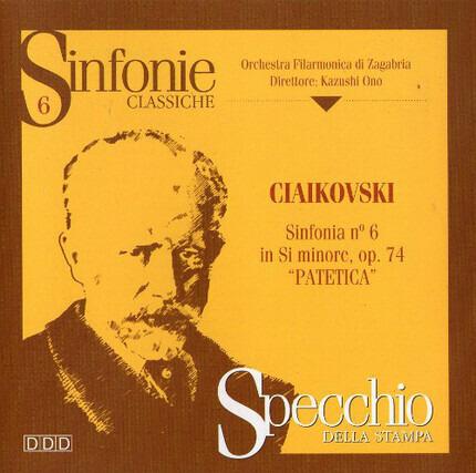 #<Artist:0x00007f210ad496d0> - Sinfonia N. 6 In Si Minore, Op. 74 'Patetica'