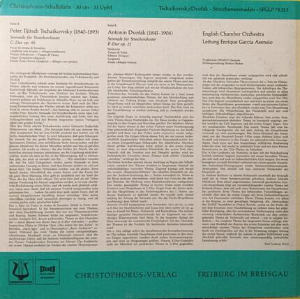 #<Artist:0x00007fcec1109bd0> - Serenaden Für Streichorchester