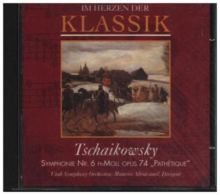 #<Artist:0x00007f530f251728> - Im Herzen der Klassik: Tschaikowsky - Symphonie Nr. 6 H-Mol Opus 74 'Pathetique'