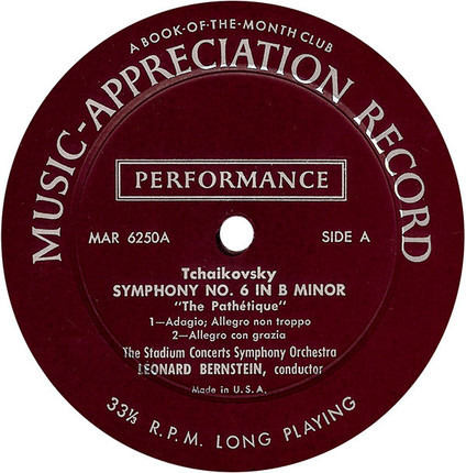 #<Artist:0x00007fcee3229728> - Symphony No.6 In B Minor, Op.74 - Pathétique