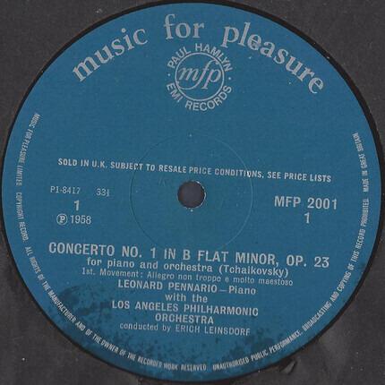 #<Artist:0x00007fcee3f068d8> - Piano Concerto No. 1 In B Flat Minor