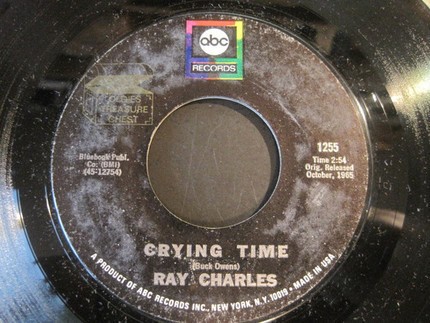 #<Artist:0x00007fcec38828d8> - Crying Time / One Mint Julep