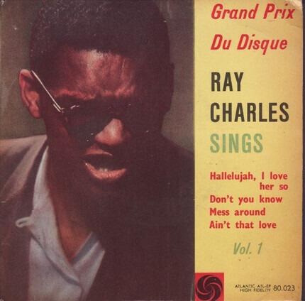 #<Artist:0x00007efe66c664c8> - Ray Charles Sings (Vol. 1)