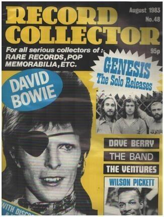 #<Artist:0x00000000070021a0> - No.48 / AUG. 1983 - David Bowie