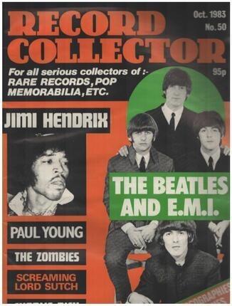 #<Artist:0x00007f4291189db0> - No.50 / OCT. 1983 - The Beatles
