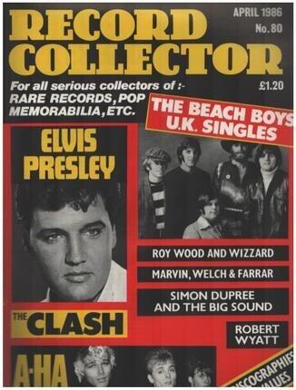 #<Artist:0x00007f1fdeef4688> - No.80 / APR. 1986 - Elvis Presley