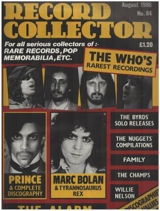 #<Artist:0x00007fe979744c48> - No.84 / AUG. 1986 - The Who