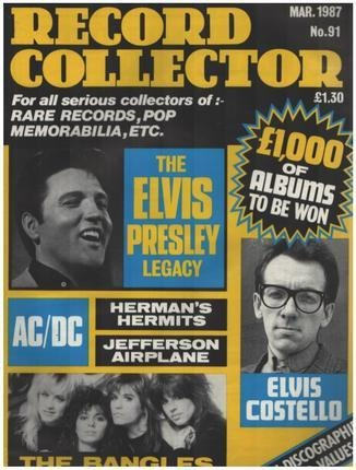 #<Artist:0x00007fdcf4abc5d8> - No.91 / MAR. 1987 - Elvis Presley