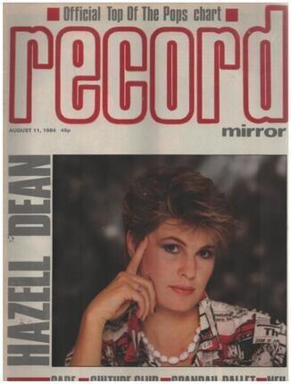 #<Artist:0x00007fa364296c60> - AUG 11 / 1984 - Hazell Dean