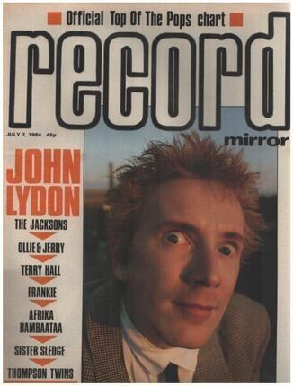 #<Artist:0x00007f7f929357d8> - JUL 7 / 1984 - John Lydon