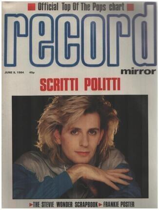 #<Artist:0x00007f70bf2e40c8> - JUN 9 / 1984 - Scritti Politti