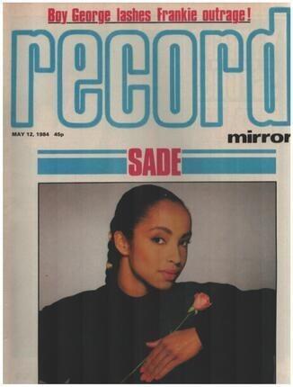 #<Artist:0x00007f7560275e20> - MAY 12 / 1984 - Sade