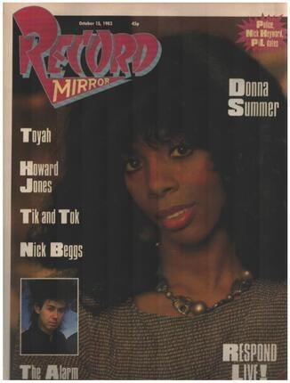 #<Artist:0x00007f3d28bc7ea8> - OCT 15 / 1983 - Donna Summer