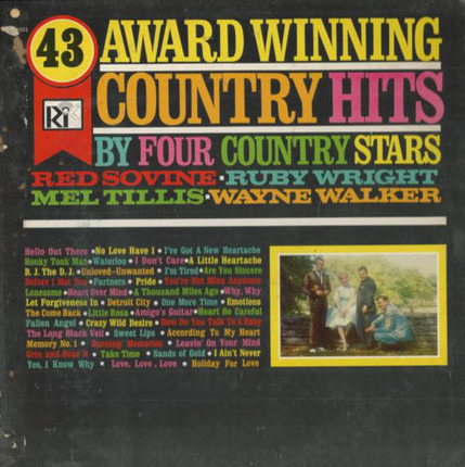 #<Artist:0x00007fb777dc71d0> - 43 Award Winning Country Hits, By Four Country Stars