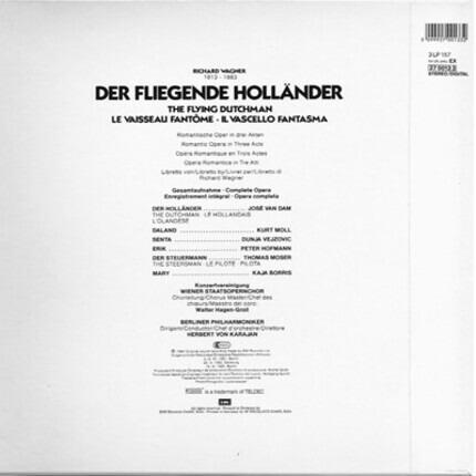 #<Artist:0x00007fcec175fae8> - Der Fliegende Holländer (Romantische Oper In Drei Akten - Gesamtaufnahme)