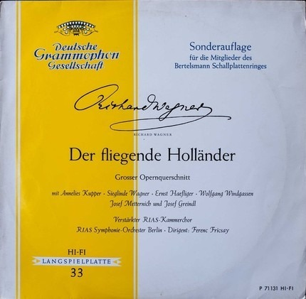 #<Artist:0x00007f60ba864760> - Der Fliegende Holländer (Großer Opernquerschnitt)