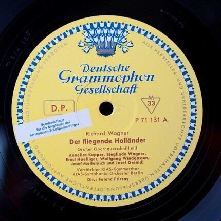 #<Artist:0x00007fcee21b2818> - Der Fliegende Holländer (Großer Opernquerschnitt)