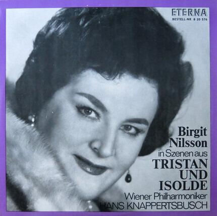 """#<Artist:0x00007f60e24a40f8> - Birgit Nilsson in Szenen aus """"Tristan und Isolde"""""""