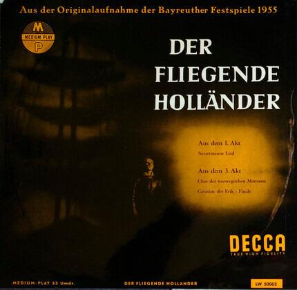 #<Artist:0x00007f740e544be0> - Der Fliegende Höllander (Szenen / Arien)