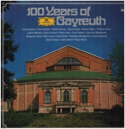 #<Artist:0x00007fce31ffc9e8> - 100 Years Of Bayreuth