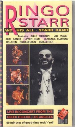 #<Artist:0x00007fb509cc8808> - Ringo Starr And His All-Starr Band