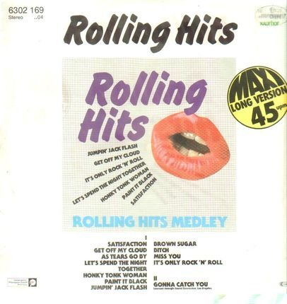 #<Artist:0x00007f75ae54a940> - Rolling Hits Medley