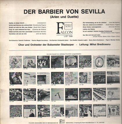 #<Artist:0x00007fcee1b5ce50> - Der Barbier von Sevilla (Mihai Brediceanu)