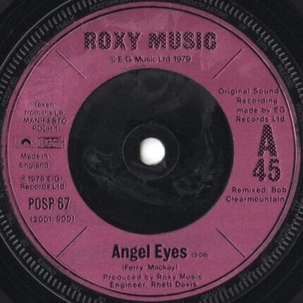 #<Artist:0x00007fcec3d15288> - Angel Eyes
