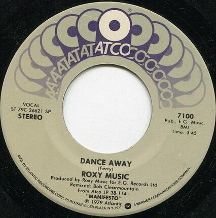 #<Artist:0x00007fcec01c9b48> - Dance Away