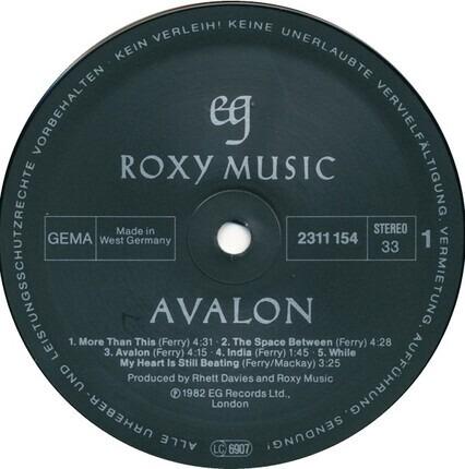 #<Artist:0x00007fcee1a45080> - Avalon