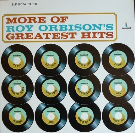 #<Artist:0x00007fcee1b8ef68> - More Of Roy Orbison's Greatest Hits