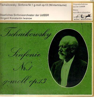 #<Artist:0x00007f26057c54c0> - Sinfonie Nr. 1 G-moll Op. 13 'Winterträume'