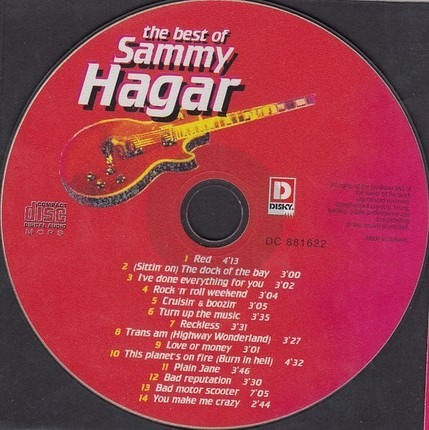 #<Artist:0x00007fcee1d00590> - The Best Of Sammy Hagar