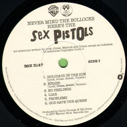 #<Artist:0x00007f8fc138a060> - Never Mind the Bollocks Here's the Sex Pistols
