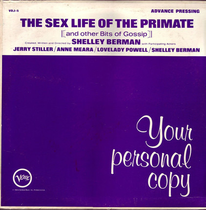 #<Artist:0x00007f73ed039cc0> - The Sex Life Of The Primate (And Other Bits Of Gossip)