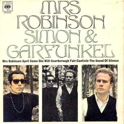 #<Artist:0x00007fcee3972610> - Mrs. Robinson