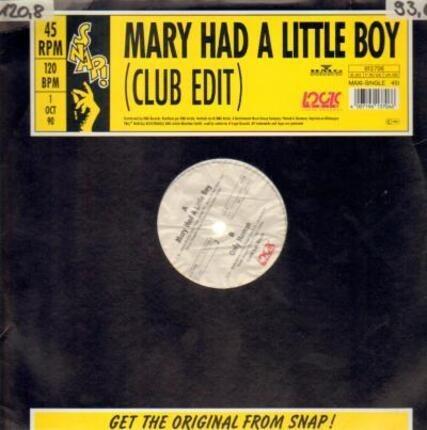 #<Artist:0x00007ff8a97f3ec0> - Mary Had A Little Boy / Only Human