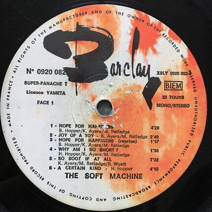 #<Artist:0x00007fcee3bc5d18> - The Soft Machine