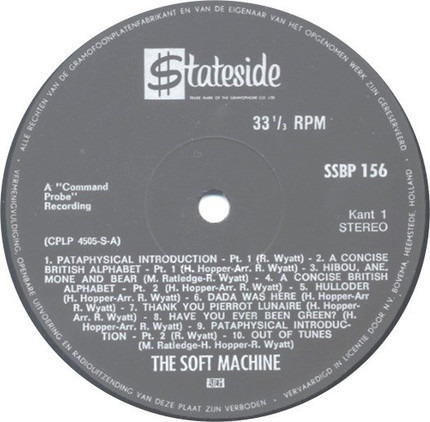 #<Artist:0x00007fcee1696f38> - The Soft Machine